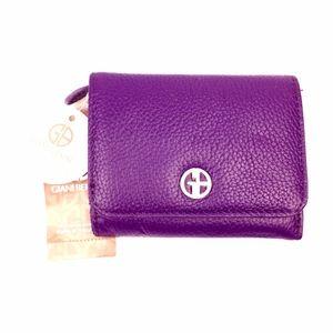 NEW Giani Bernini Purple Wallet